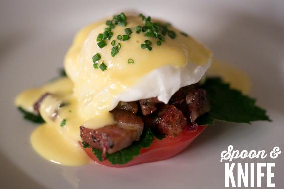 Gluten Free Eggs Benedict BLT