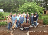 Master Gardener Volunteers are an integral part of the garden success