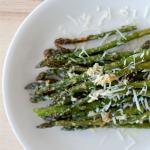 Parmesan Roasted Asparagus | SpoonfulOfButter.com