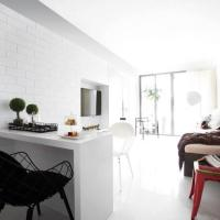 Small Space Living Singapore  Clean-lined Shoebox Apartment in Queenstown