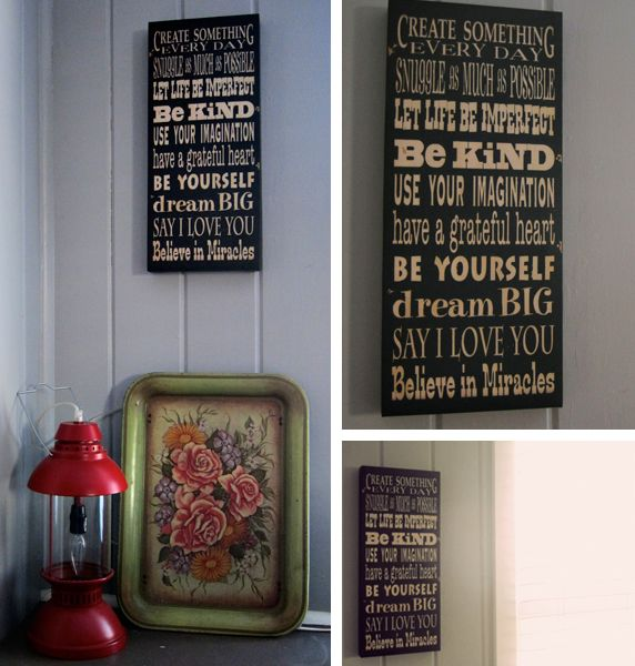 homegoods signs for your house