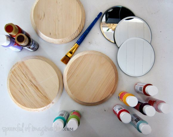supplies to make a mirror