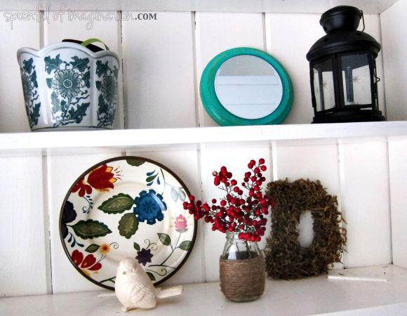 book shelf items
