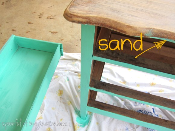 touch up sand job