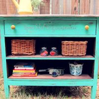 Recycled Old Dresser Makeover