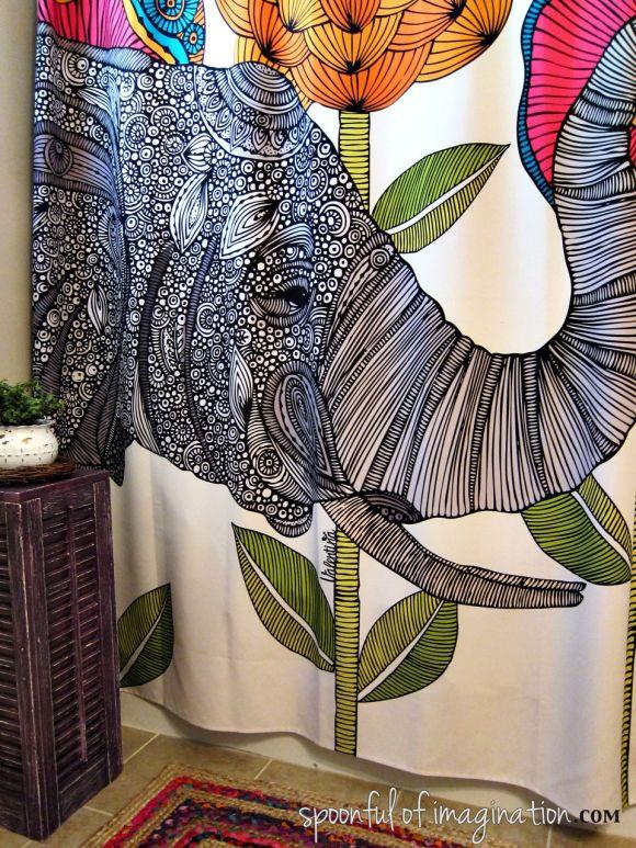 Valetina Ramos Aaron Shower Curtain