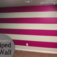 DIY Wall Stripes