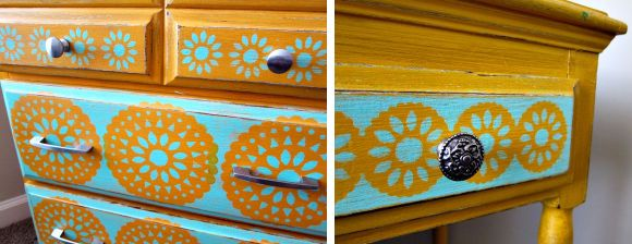 mixed drawer knobs