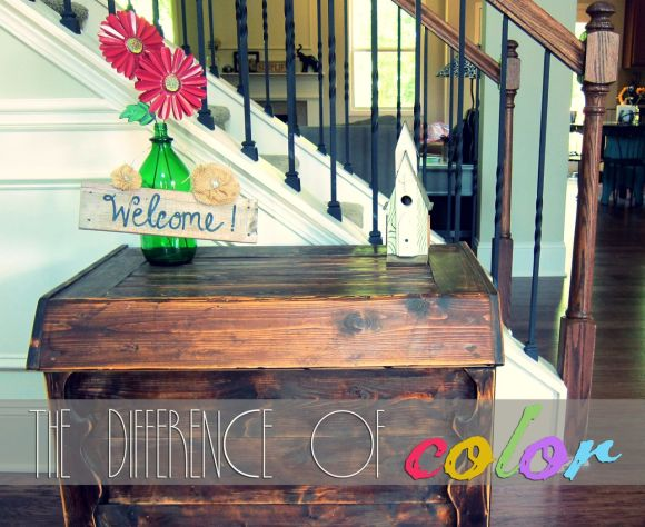 using color to decorate