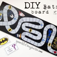 DIY Batman Party Game