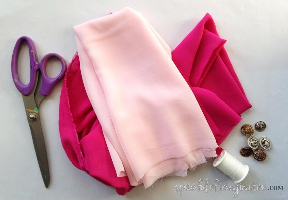 supplies for chiffon flower