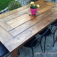 DIY Outdoor Table
