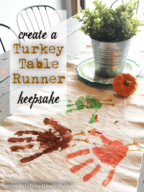Turkey Table Runner Craft
