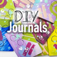 DIY Painted Journals