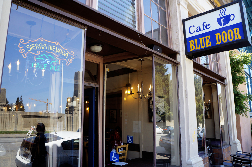 Image result for Cafe Blue Door berkeley