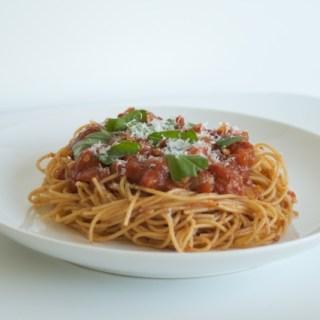 Basic Pasta Sauce, Accessorized
