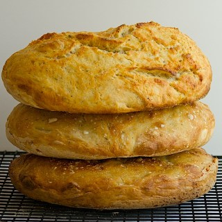 A Trio of No-Knead Breads + Compound Butter