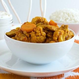 Chicken (or Vegetarian) Tikka Masala with Cumin-Scented Raita:  Indian Food 101