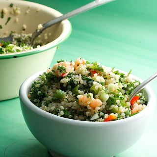 Summer's Not Over Yet Quinoa Tabouleh Salad