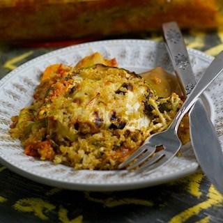 Quinoa Ratatouille Lasagna