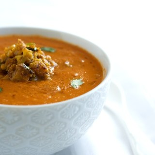 Curried Tomato-Coconut Soup