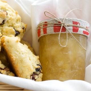 Feller House Pear Ginger Jam + A Giveaway!