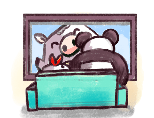 Panda and Henny
