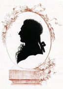 Silhouetteportret einde 18de eeuw ()