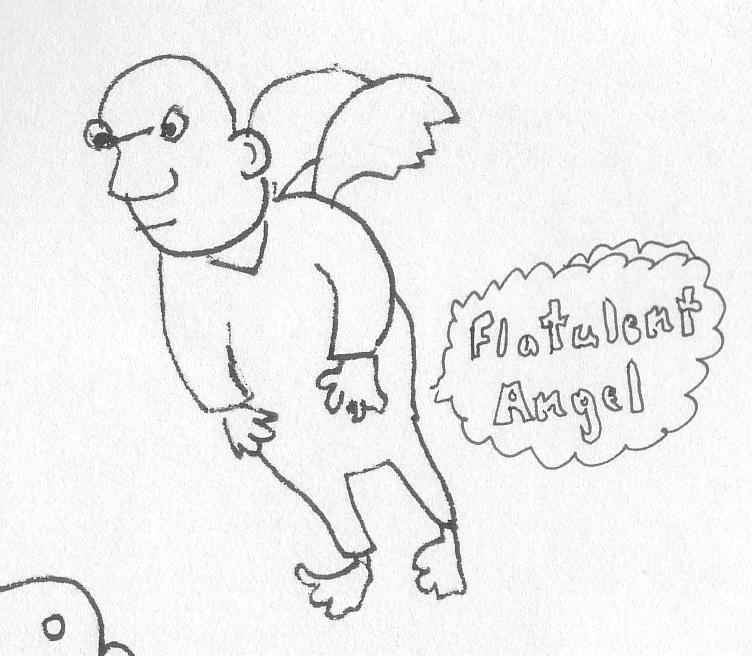 flatulent angel
