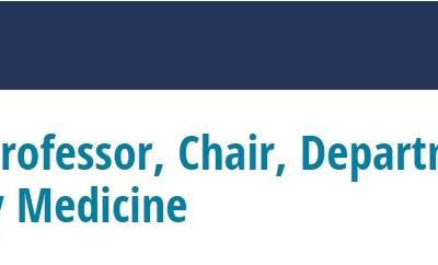 JOB OPPORTUNITY: Associate/Full Professor, Chair, Department of Family and Community Medicine