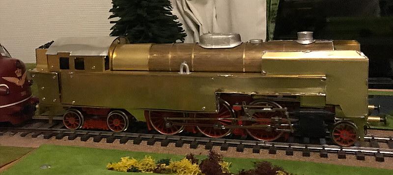 S maskinen på Dalen modeljernbane