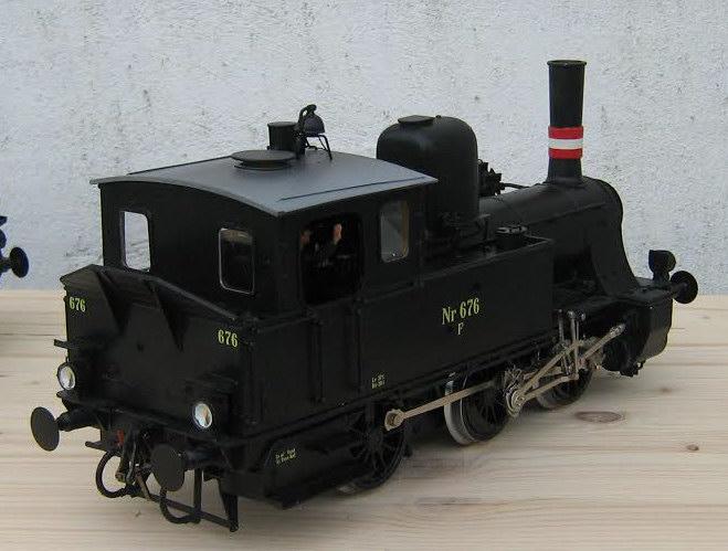 DSB damplokomotiv litra F - Tikøb Støberi