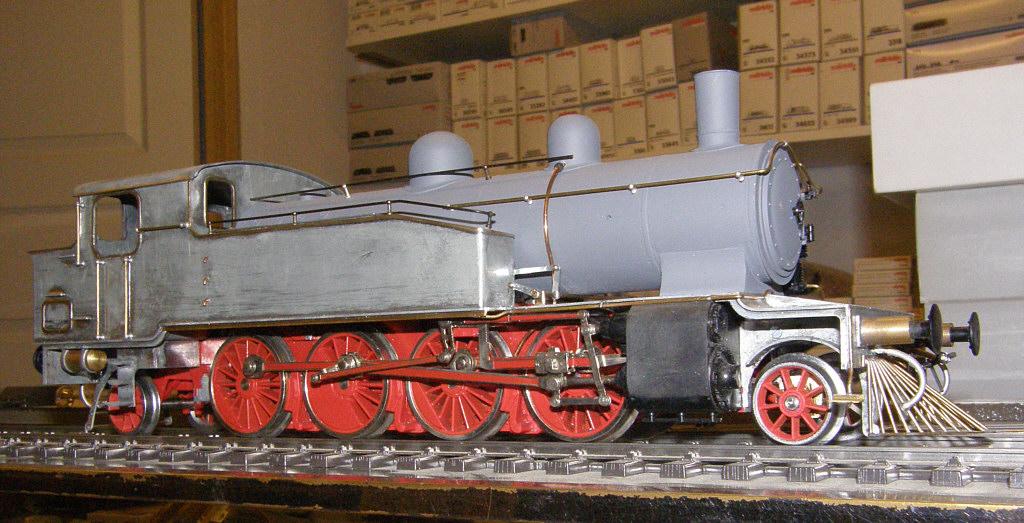 Damplokomotiv litra Df - Tikøb Støberi