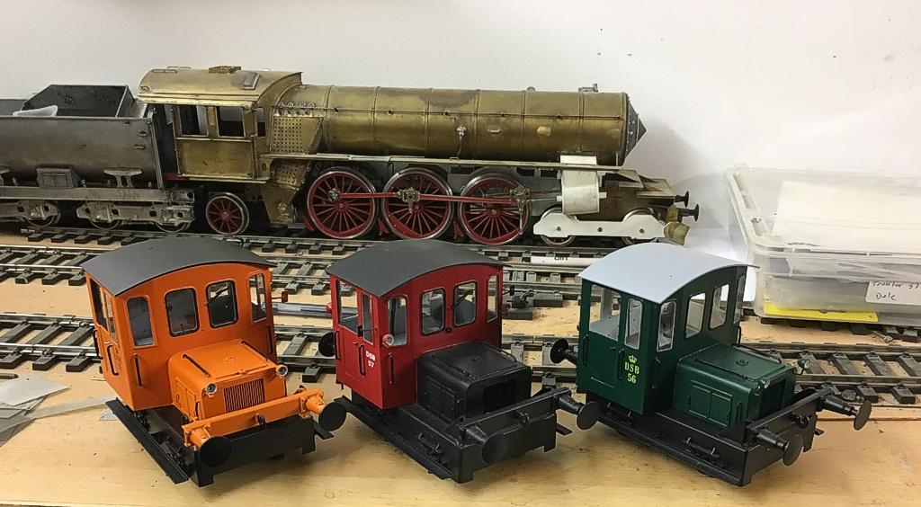 DSB Traktor 56 og 57 - Tikøb Støberi