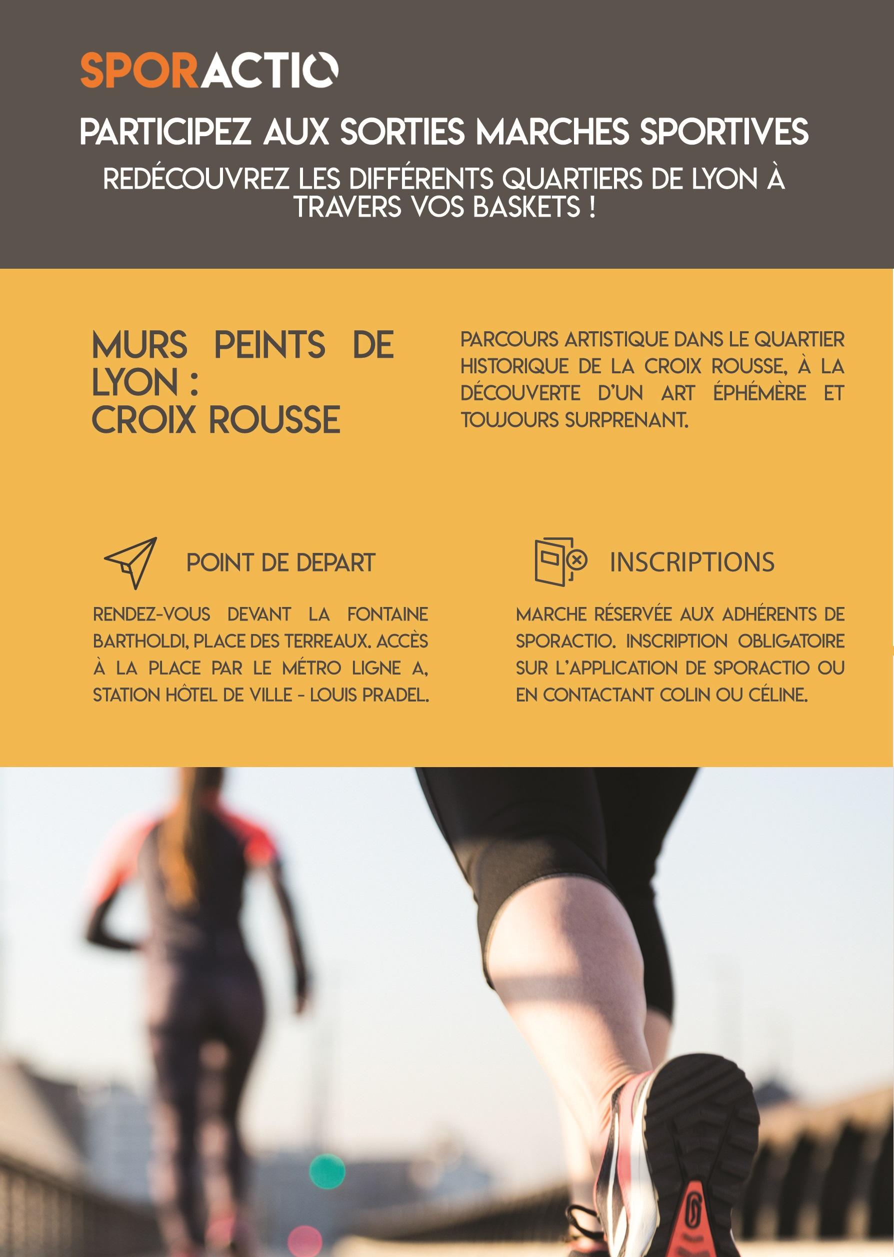Les marches sportives - Sporactio - Activité Physique Adaptée - Lyon