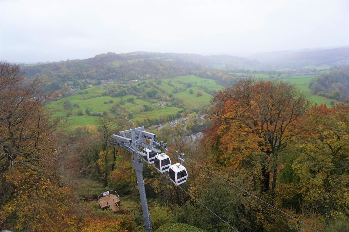 A few hours in Heights of Abraham, Peak District Review