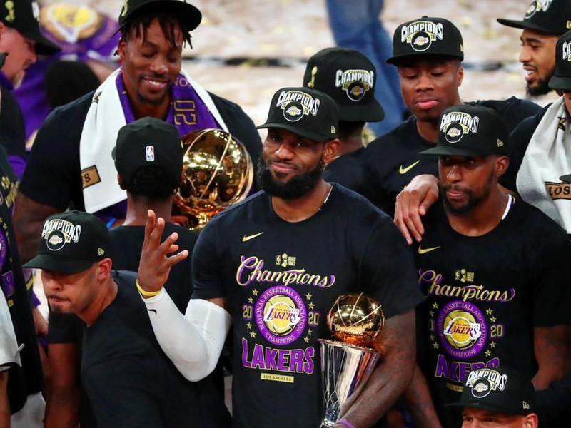 LA Lakers Şampiyon