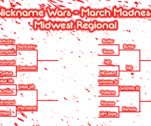 Nickname Wars March Madness: Midwest Regional Third Round (Day 2)