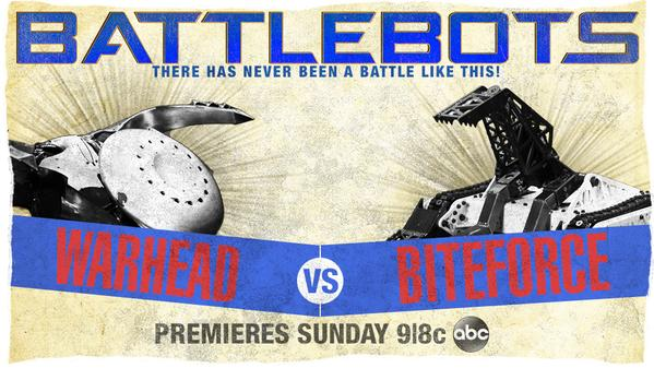 Warhead VS Biteforce BattleBots