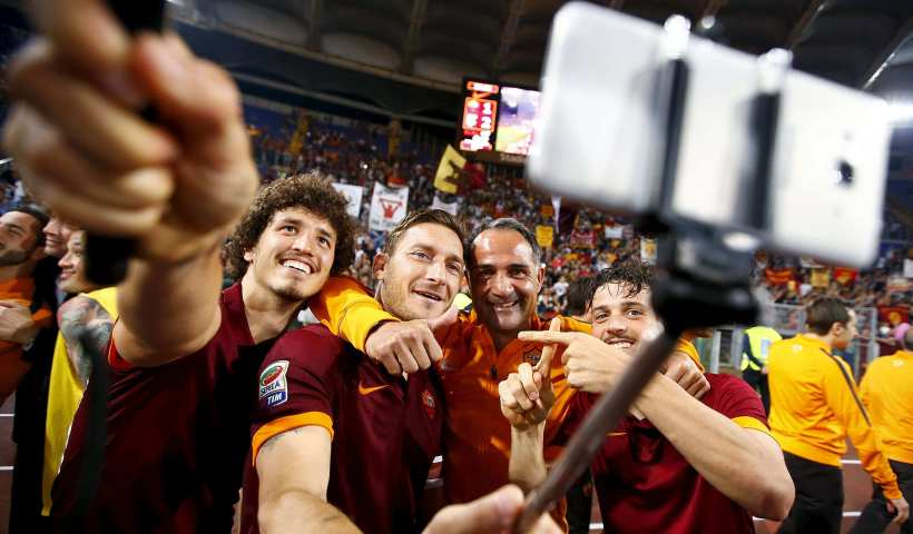 stratégie digitale de l'AS Roma