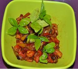 Colombo de sole tropicale ,crevettes basilic:des recettes diététiques. Un menu presque équilibré avec ces 2 recettes diététiques