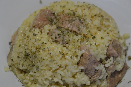 RISOTTO PORC CURRY COOKEO