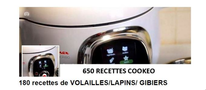 180 recettes cookeo volailles LAPIN GIBIER