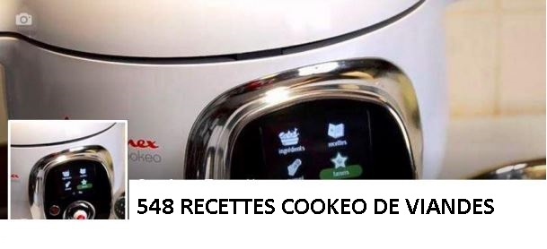 548 recettes cookeo de viandes