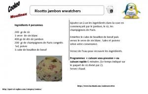 risotto jambon ww
