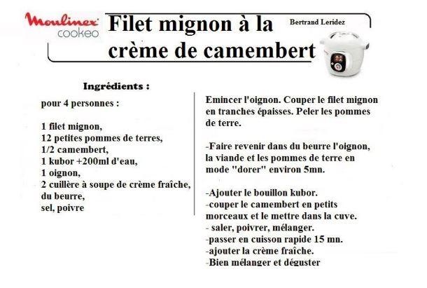 10 recettes cookeo filets mignon