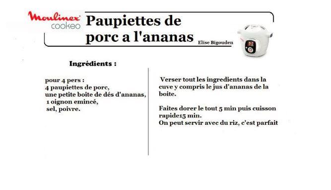 PAUPIETTES ANANAS