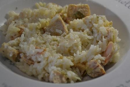 Vidéo cookeo risotto saumon poireaux