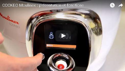 COOKEO Moulinex : présentation et fonctions