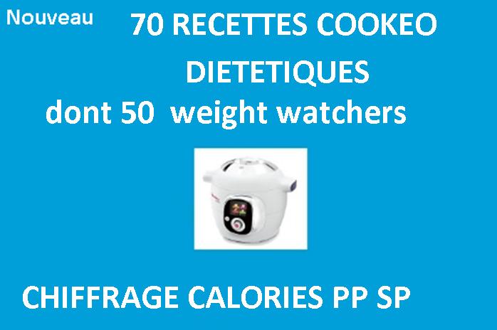 70 recettes cookeo diététiques